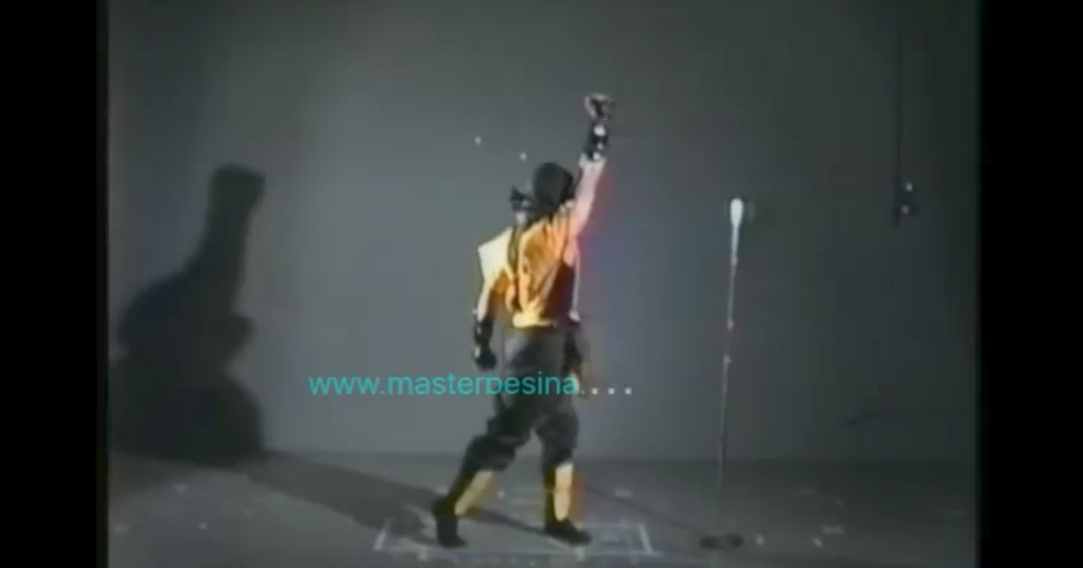 You have to see the motion-capture footage used for the
