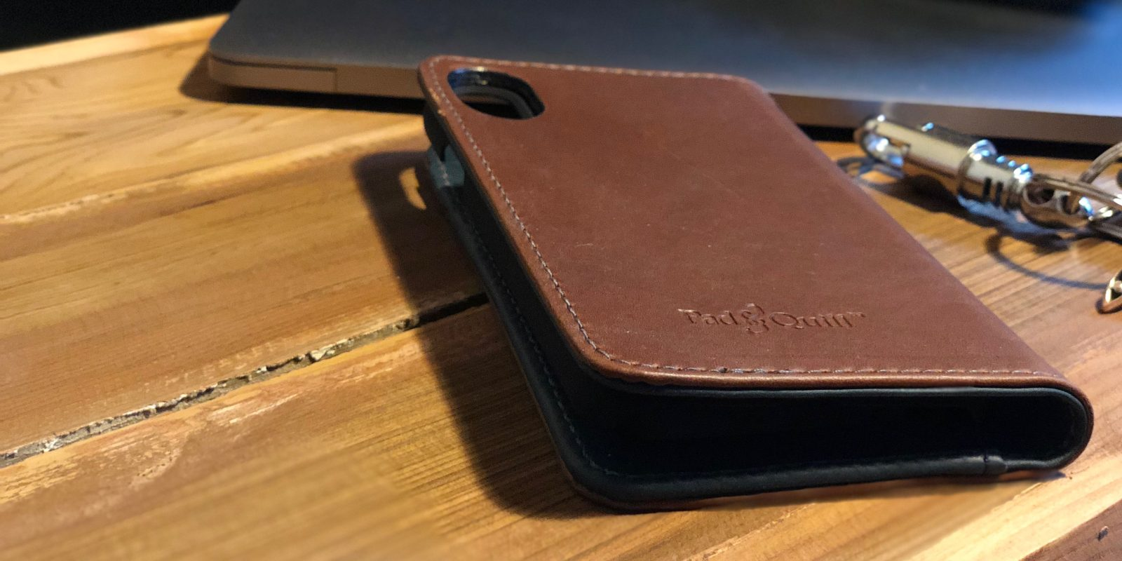 new concept b59dd 821bf Review: Pad & Quill's Bella Fino iPhone X Wallet Case delivers w ...