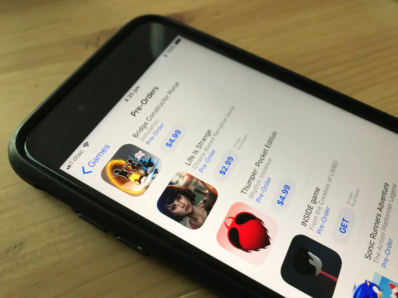 Apple's App Store now lets you pre-order iOS apps and games
