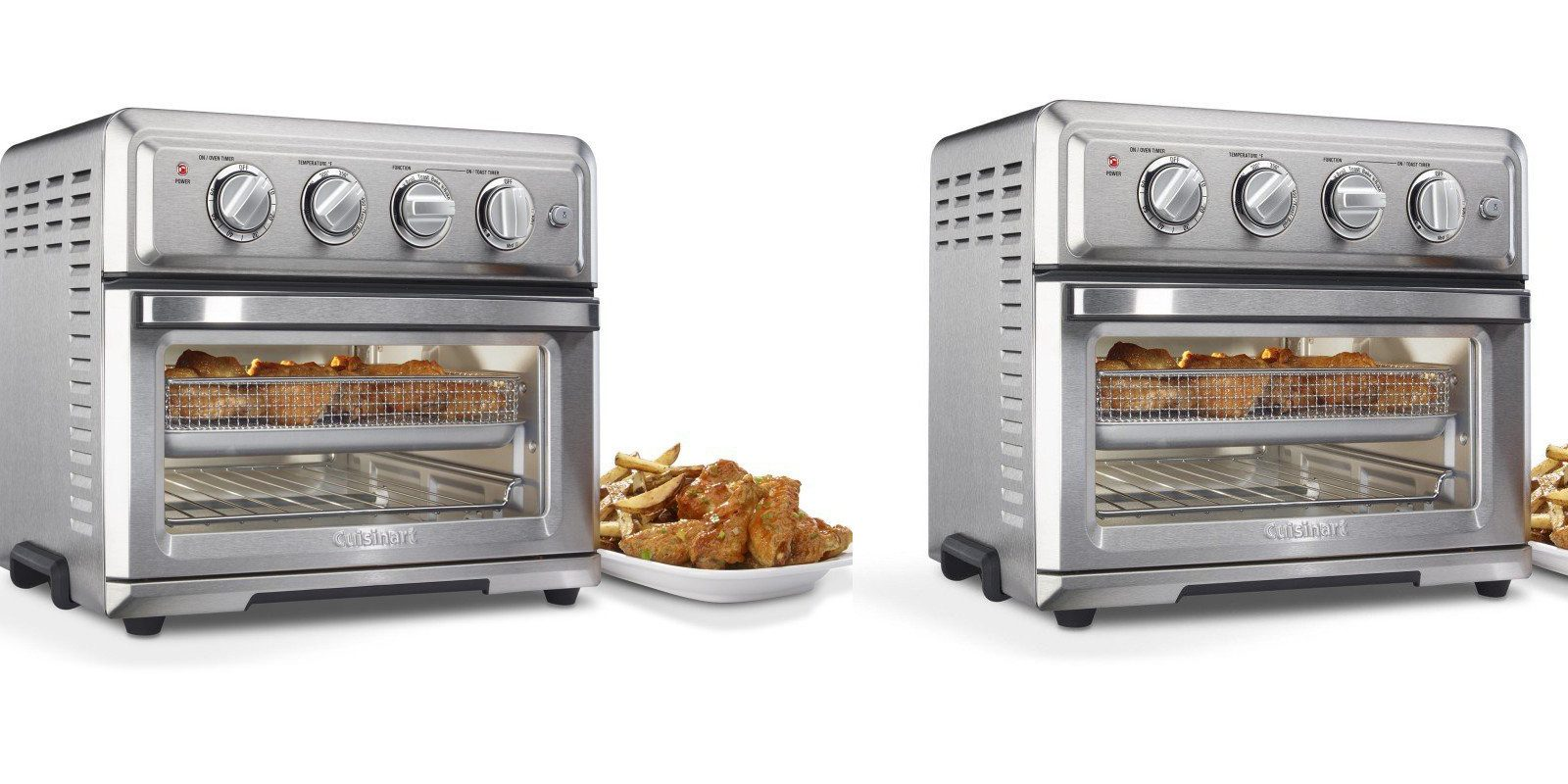 Cuisinart Toaster Oven W Built In Air Fryer Drops To 145