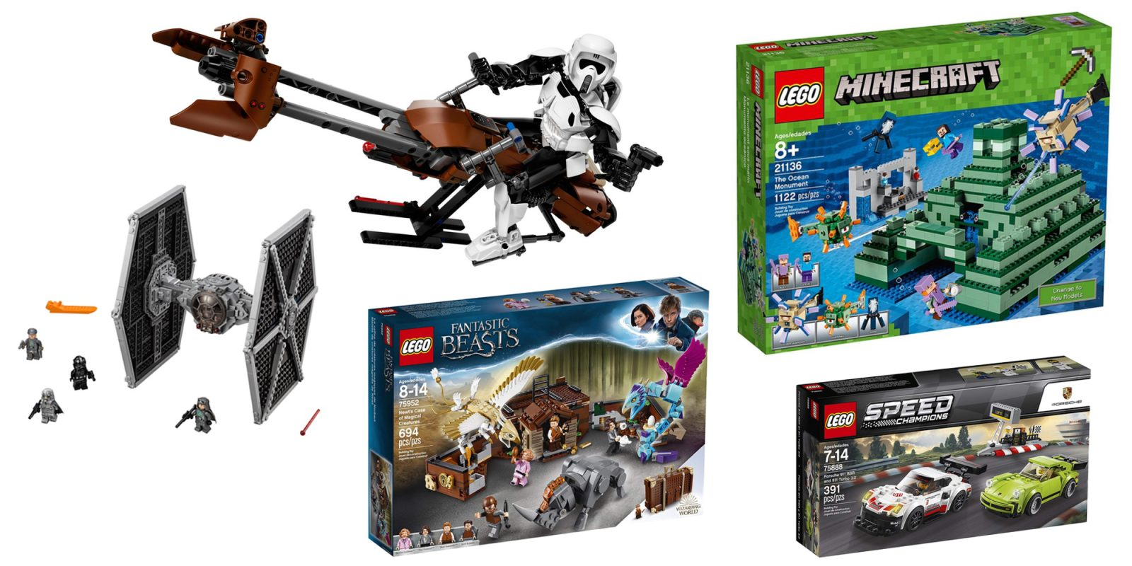 Save Up To 30 On Lego Star Wars Minecraft Harry Potter And More
