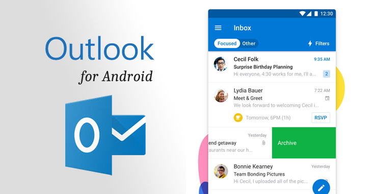 Important Flaw in Outlook App for Android Affects Over 100
