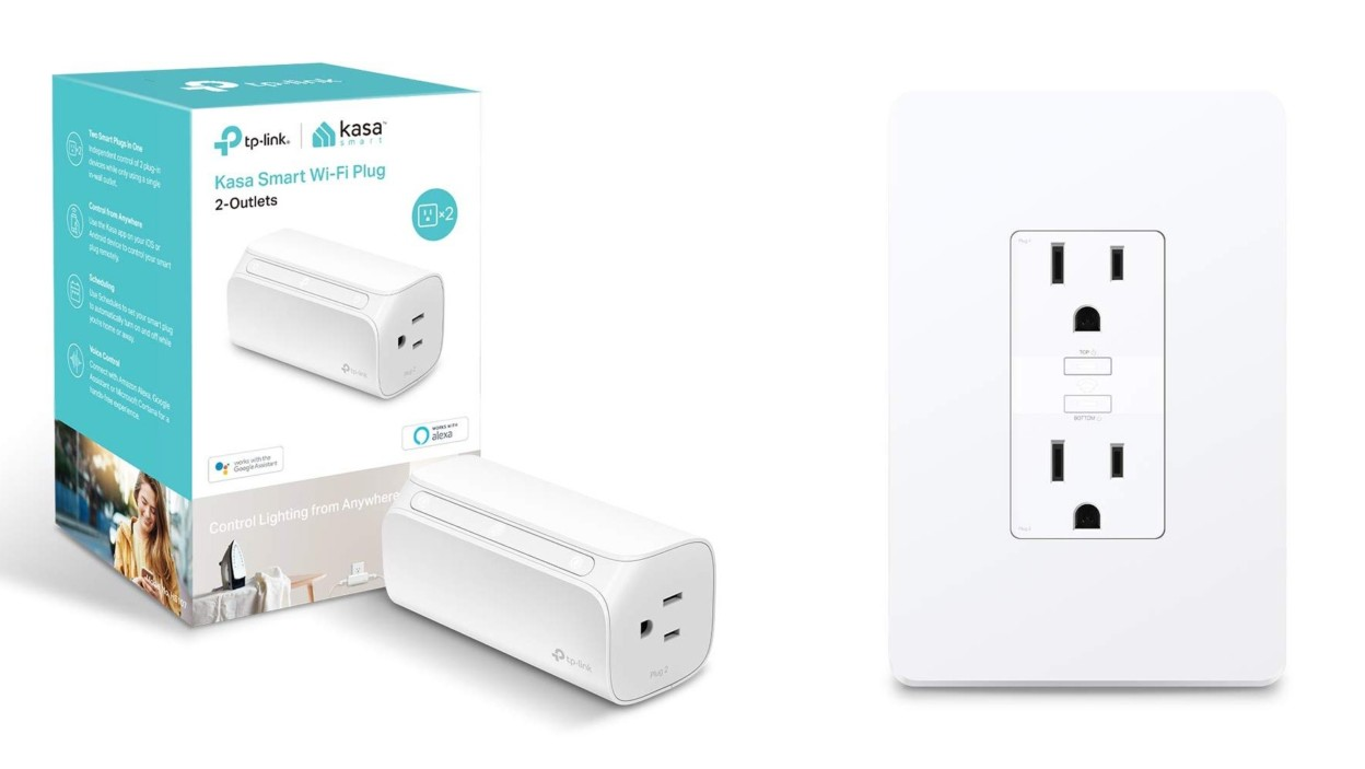 Save up to 25% on TP-Link's Dual Outlet Alexa + Assistant Smart