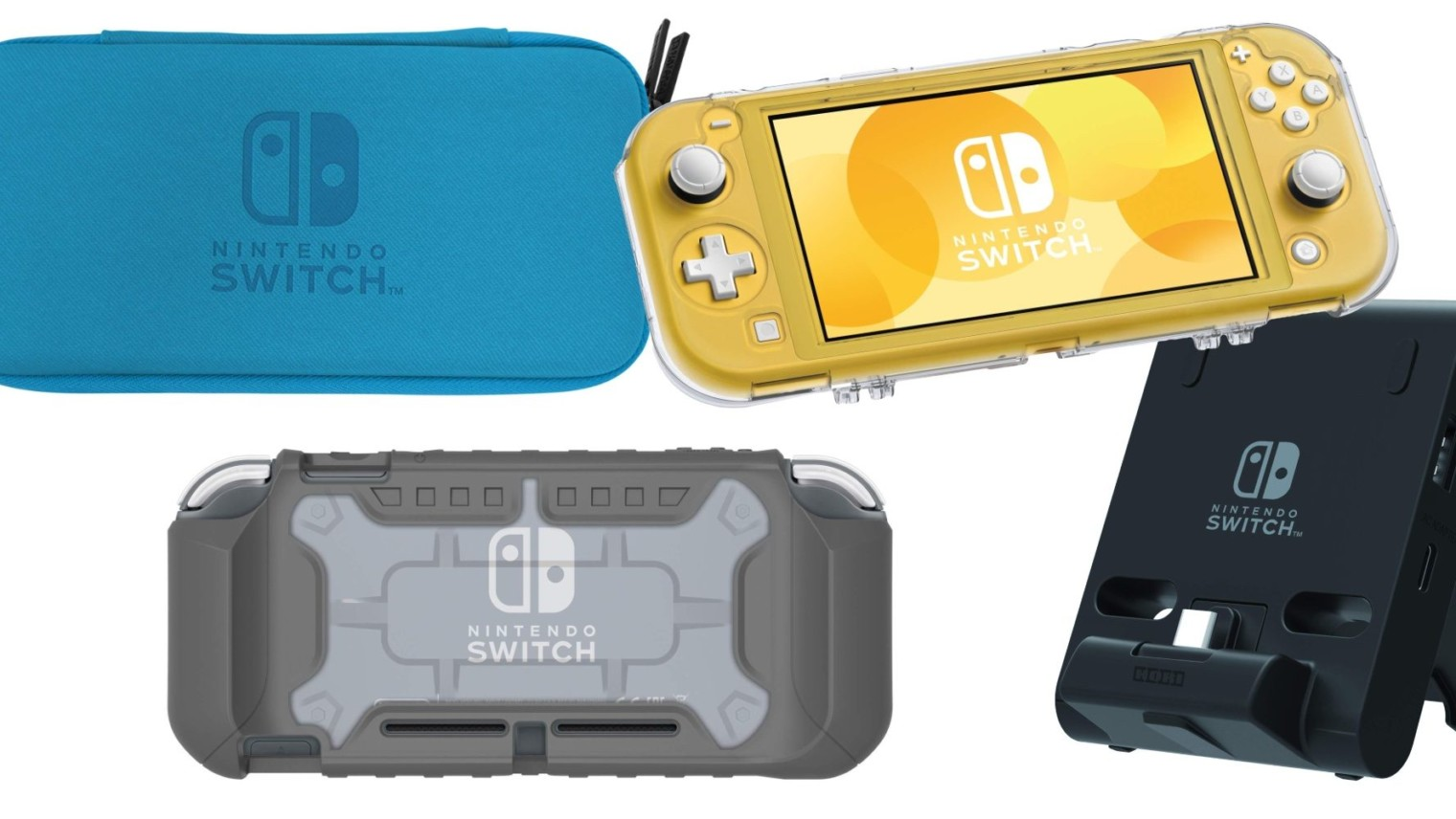 Hori Switch Lite Case Debut Alongside New Charging Accessory Anith